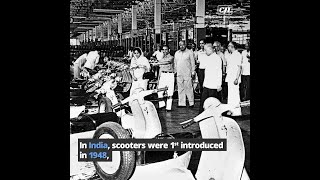 Scooters over the ages