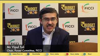 Budget makes power sector attractive for investments: Vipul Tuli, Chair, FICCI Power Committee