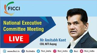 Mr Amitabh Kant, CEO,  NITI Aayog Live from #FICCINECM