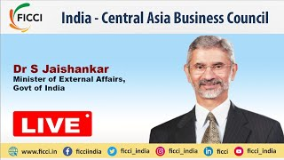 External Affairs Minister Dr S Jaishankar addresses 'India - Central Asia Business Council'