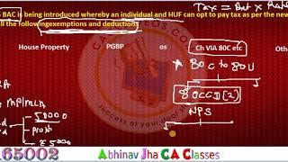 Budget 2020 के कारण Individual को कौन से Deduction and  Exemption नहीं मिलेंगे| Abhinav Jha   CA CS