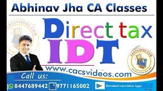 CA Final  सिर्फ 10 मिनट में पूरा GST ch4  कंपोजिशन स्कीम|| Abhinav Jha CA CS ||  DT &IDT Videos ||