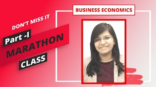 Business Economics Marathon Class | Part 1 by CA Aishwarya Khandelwal