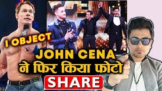 John Cena Shares A Photo Again And Asim Riaz Fans Goes Crazy | Sidharth FIXED Winner Controversy