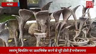 भोलेनाथ के स्वयंभू शिवलिंग की महिमा निराली, जलाभिषेक से पूरी होती है हर मनोकामना