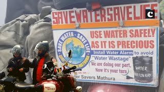 Couple out on India tour to spread awareness on water conservation