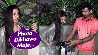 Tabu Hilarious Interaction With Media Photographers - Watch Video