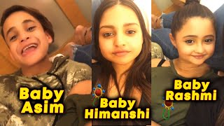 Baby Asim, Baby Himanshi, Baby Rashmi HILARIOUS Video Goes Viral | Bigg Boss 13