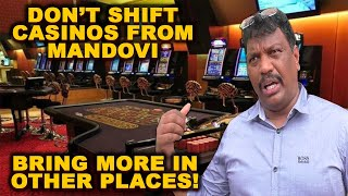 Lobo says casinos should not be shifted from Mandovi river, want more casino vessels in other places