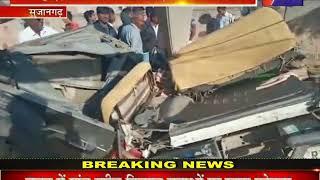 Sujangarh Road Accident | खंभे से टकराई तेज रफ्तार बोलेरो, हादसे में 3 की मौत, 4 गंभीर घायल