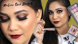 Maliao One Brand / First Impression | Smokey Halo Eyes | Nidhi Katiyar
