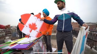 How Desi Boys Fly Kites In Punjab On Basant ???? Ft. Bir Ramgharia