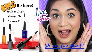 OMG We are Live Now !! Launching CuffsnLashes Liquid Eyeliner | Nidhi Katiyar