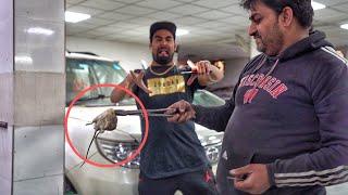 FOUND BIG FAT RAT IN MY CAR | 50 Hazar ka nuksan kardiya ????