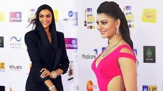 Deepika Padukone And Urvashi Rautela Looks Stunning At Radio Mirchi Music Awards 2020 Red Carpet