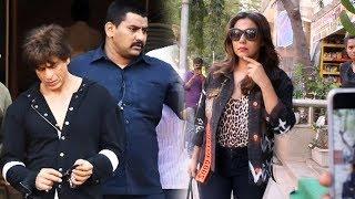 Shahrukh Khan's Wife Gauri Khan Spotted At Muah Salon Bandra
