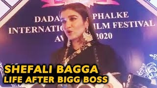Bigg Boss 13 Fame Shefali Bagga Talks On Life After Bigg Boss | Dada Saheb Phalke Award 2020