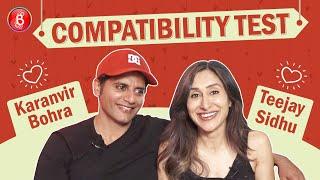 Karanvir Bohra's Hilarious Leg Pulling Of Wife Teejay Sidhu Will Make You Go ROFL|Compatibility Test