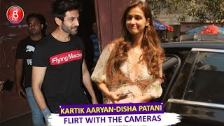 Kartik Aaryan-Disha Patani Flirt With The Cameras Around Town | Love Aaj Kal | Malang