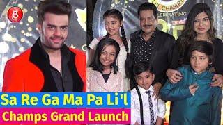 Udit Narayan, Alka Yagnik, Maniesh Paul Launch New Season Of Sa Re Ga Ma Pa Li'l Champs