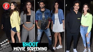 Vicky Kaushal, Katrina Kaif, Ananya Panday, Janhvi Kapoor, Bhumi Pednekar Attend Bhoot Screening