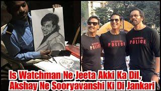Akshay Kumar Ne Khud Ka Sketch Dekhkar Kiya Fan Ka Shukriya, Di Sooryavanshi Trailer Ki Jankari
