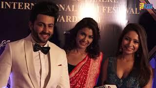 Kumkum Bhagya Serial Sriti Jha & Dheeraj Dhoopar At Dadasaheb Phalke International Awards 2020