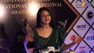 Gorgeous Divyanka Tripathi Dahiya Makes Grand Entry At Dadasaheb Phalke International Awards 2020