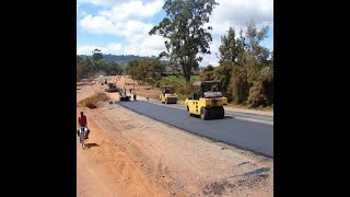 VALPOI: Internal roads are getting hot-mixed at an cost of Rs. 20cr