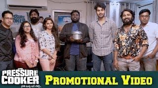 Viva Harsha Making Fun with Pressure Cooker Movie Team | Sai Ronak | Preeti | Bhavani HD Movies