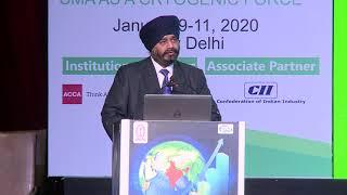 Valedictory Session, CMA Balwinder Singh , President, ICAI