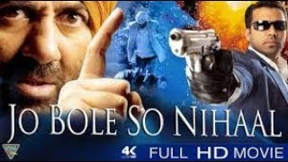 Full HD Hindi #Movie | Jo Bole So Nihaal Full Movie | Sunny Deol Action Movie Full HD