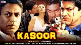 Latest Bollywood Movies 2019 | Kasoor Movie Full HD - Aftab Shivdasani, Lisa Roy, Irrfan Khan, Divya