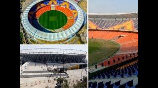Preparations underway ahead of 'Namaste Trump' event at Motera Stadium