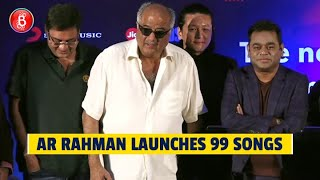 AR Rahman Launches His Dream Project 99 Songs | Ehan Bhat | Boney Kapoor | Vishwesh Krishnamoorthy