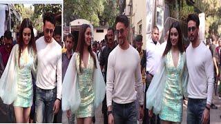 Tiger Shroff & Shraddha kapoor Promote Film Baaghi 3 | News Remind