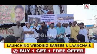 Qila Gulbarga Mein Aabad Khandano Ke Takhliya Ke Khilaf Gulbarga Mein Ahetejaj A.Tv News 21-2-2020