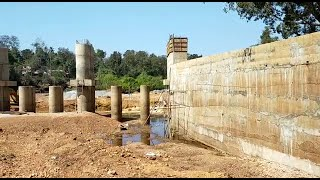 WATCH: Residents fume as Ambe-Dulay work of footbridge at snail's pace