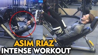 Asim Riaz FIRST Intense Workout VIDEO After Bigg Boss 13 | Fitness Motivation