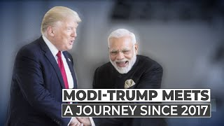 Trump Modi chemistry: How it evolved in past four years