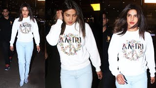 Priyanka Chopra Landed In Mumbai For A Fashiona Event Spotted At Airport