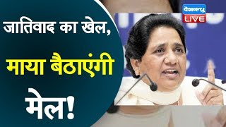 जातिवाद का खेल, Mayawati बैठाएंगी मेल! | Mayawati latest news | BSP ने भंग की सभी कमेटियां