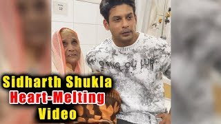 Sidharth Shukla's This Gesture Towards An OLD LADY Patient Will Melt Your Heart | Bigg Boss13 Winner