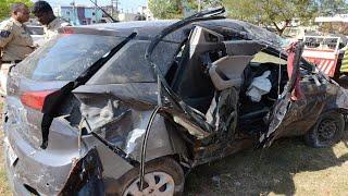 HYDERABAD ACCIDENT NEWS // karmanghat में सड़क हादसा, 3 लोगों की मौत