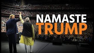India welcomes President Trump. #NamasteTrump