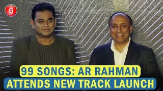 AR Rahman Speaks Up On Indian Music at track launch of 99 Songs