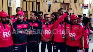 Bhojpuri jawan  इकाना क्रिकेट स्टेडियम, लखनऊ में जाने पहले भोजपुरी जवान दिखे जोश में