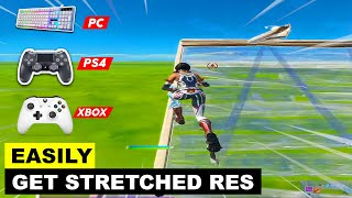 How to Get Stretched Resolution in PS4 , PC , XBOX! Fortnite Chapter 2 - Season 2