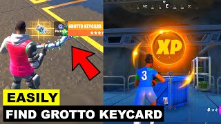 How to Find Grotto Keycard - All Gold XP Coins! Fortnite Chapter 2 - Season 2