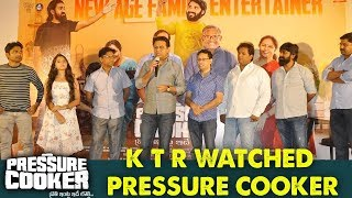 KTR Watched Pressure Cooker Movie   Sai Ronak   Rahul Ramakrishna   Preethi Asrani
